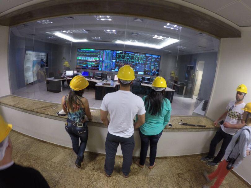 Itaipú - Sala de controle