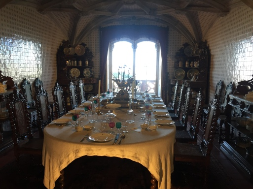 Palácio da Pena - sala de jantar