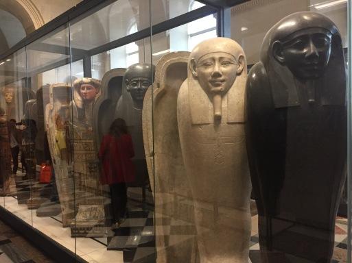 Museu do Louvre - Sarcófagos