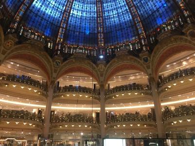 Galerias Lafayette - dentro