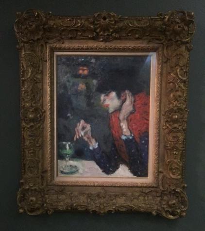 Museu D'orsay - obra de Picasso