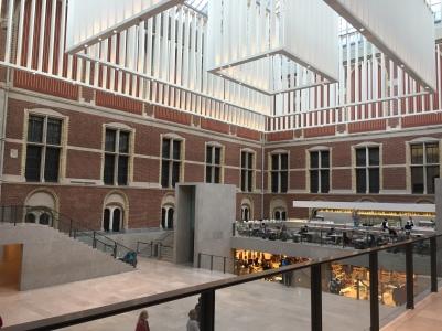Rijksmuseum - dentro