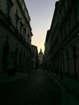 Ruas de Budapeste